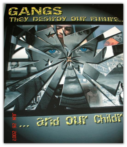 2007 Anti-Gang Poster Contest Winner - Senior Division