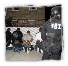 FBI Agents Arrest Gang Members