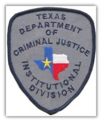 Texas Department of Criminal Justice Patch